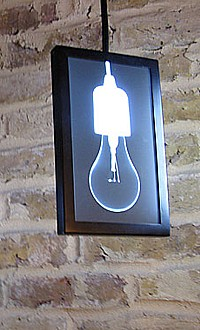 Designlampe X-Ray Lights