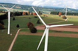 Mont-Crosin Windpark