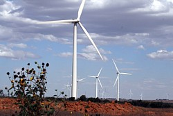 Windpark in Südwest-Australien