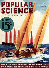 Titelbild der Popular Science vom Juli 1933